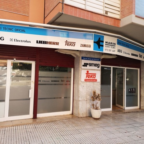 Reparación de electrodomésticos servicio oficial en Lleida