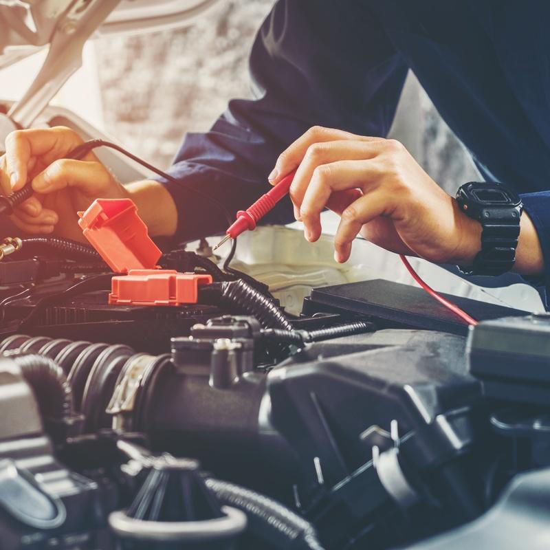 Baterías: Recambios para el Automóvil de Lucauto Madrid