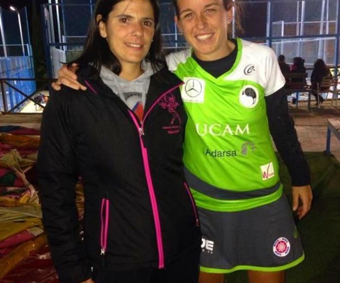 Con Patty Llaguno, actual número uno del WPT. Grandísima jugadora y mejor persona!