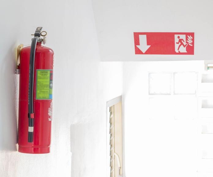 Extintores: Servicios de Securitypla