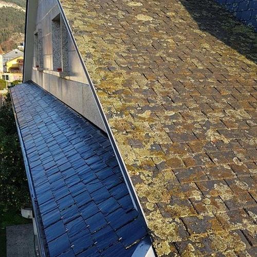 Limpieza de tejados y fachadas