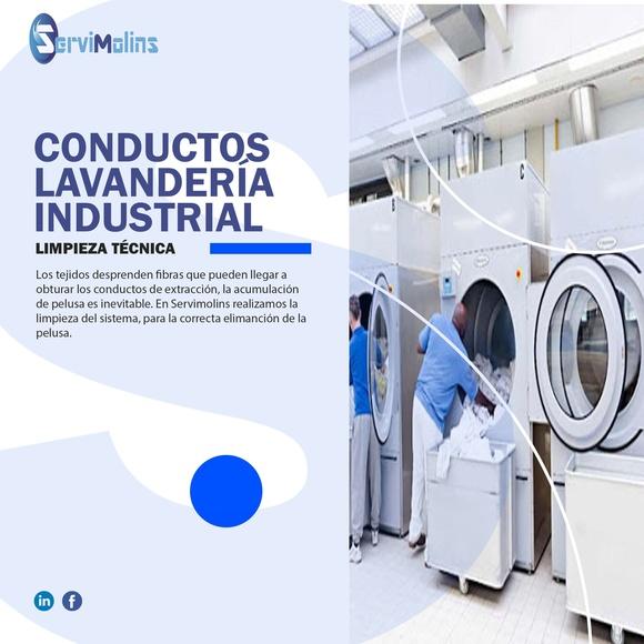 Limpieza conductos lavandería industrial:  de Servimolins
