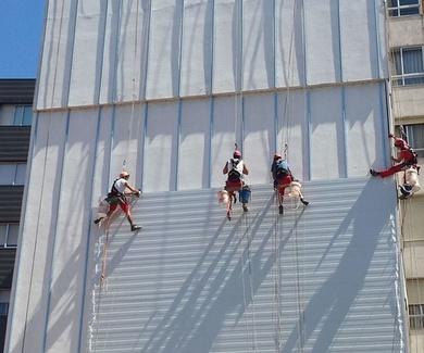 Segrama, referente en trabajos de construcción en altura