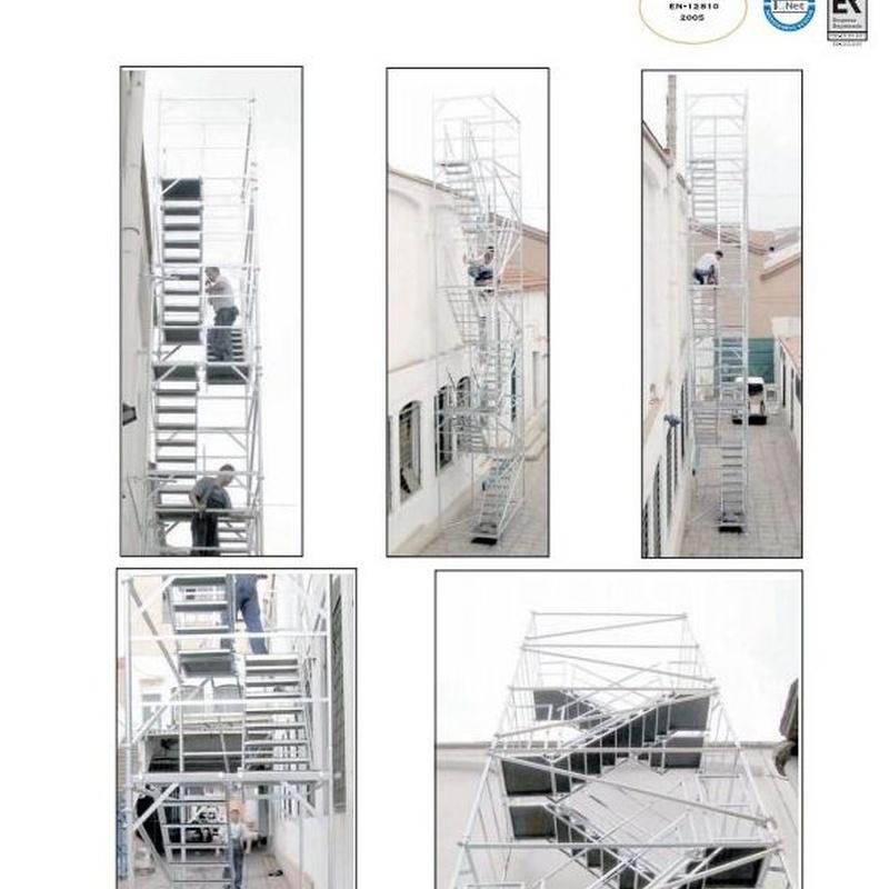 Torre de acceso y visitación: Productos y servicios de Andamios Insulares