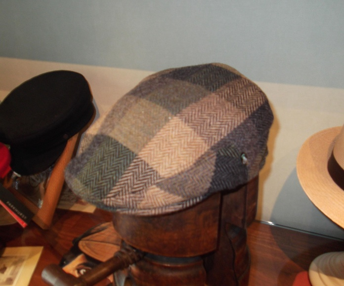 Gorra de Harris Tweed. Tallas de la 55 a la 61.