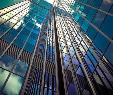 Láminas protección solar en oficinas