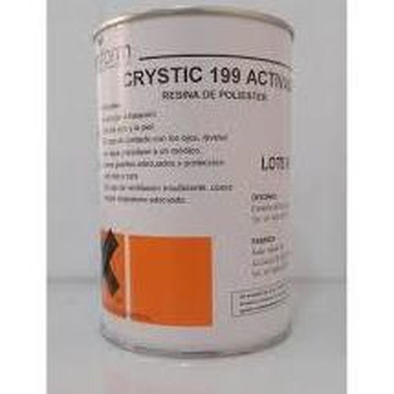 CRYSTIC 199 de PLASTIFORM en almacén de pinturas en ciudad lineal.