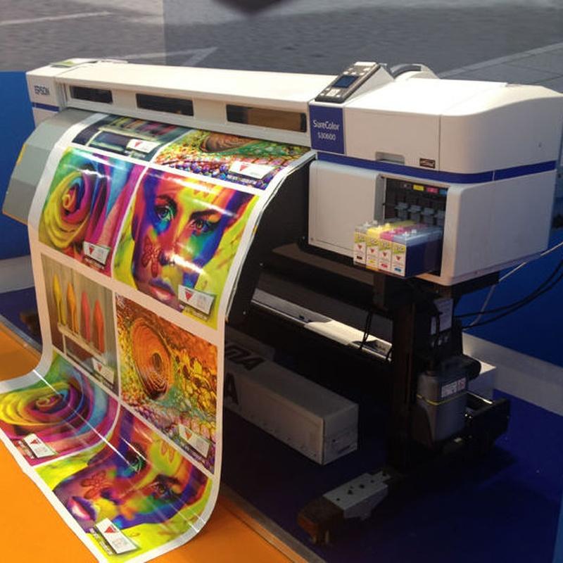 Trabajos de imprenta: Servicios de Centro de Copias Canon