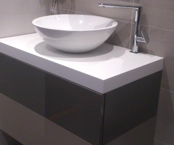 Mueble baño 2 colores