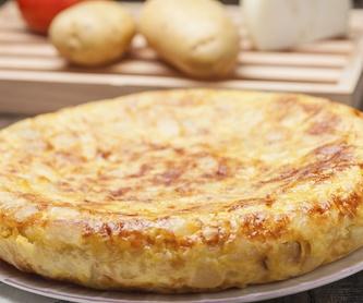 Tortilla de patata: Nuestros productos  de Precocinados Mi Tierra