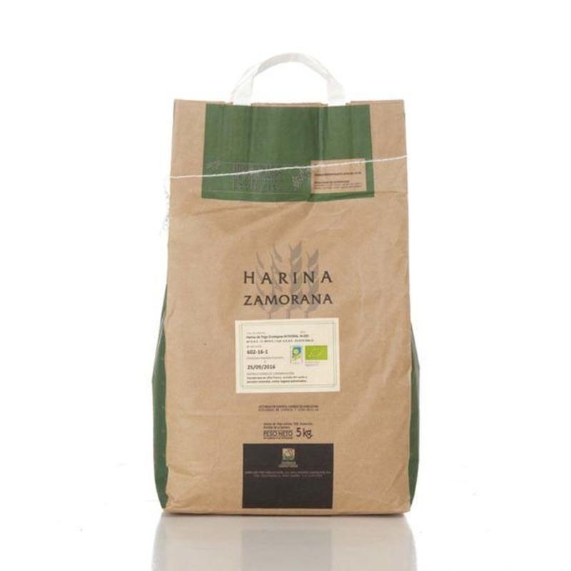 Harina de trigo ecológica integral W-200 5 kg: Productos de Coperblanc Zamorana