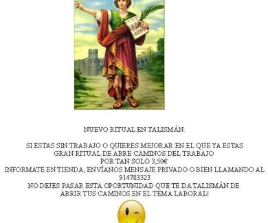 Ritual de San Pancracio