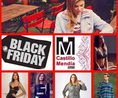 BLACK FRIDAY en CASTILLO MENDÍA