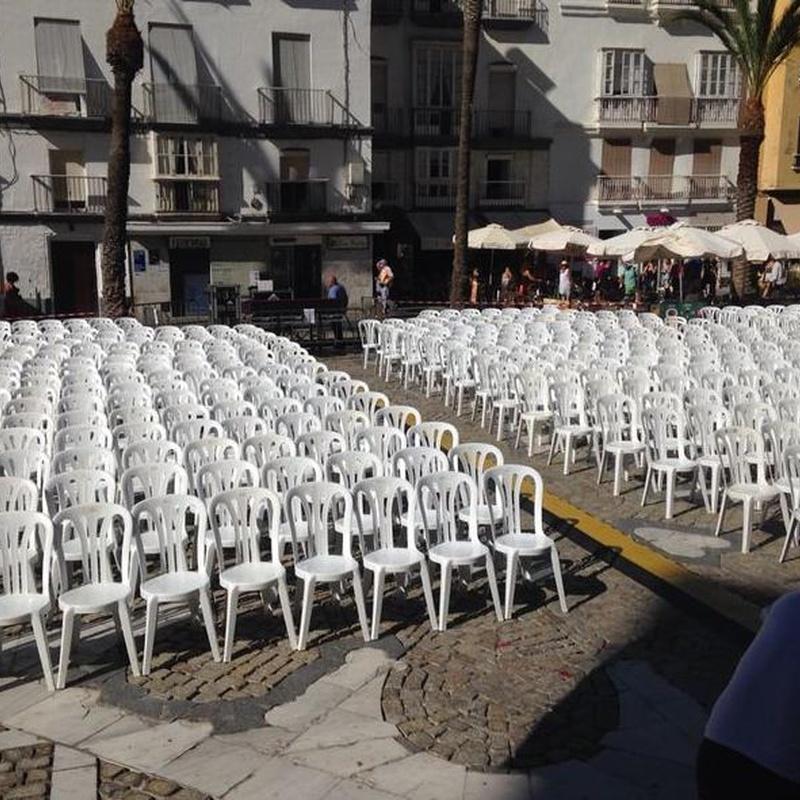EVENTO EN CÁDIZ 2014: Catálogo de Jedal Alquileres