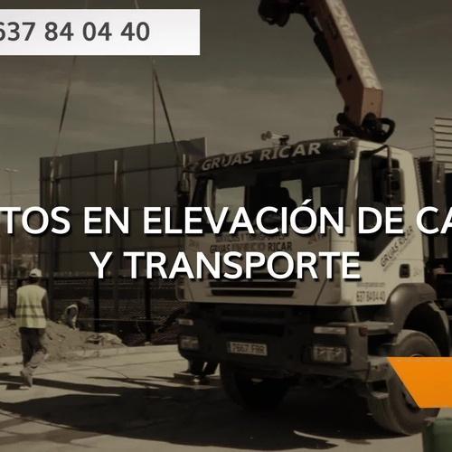Camiones con grúa en Madrdi sur | Grñuas Ricar