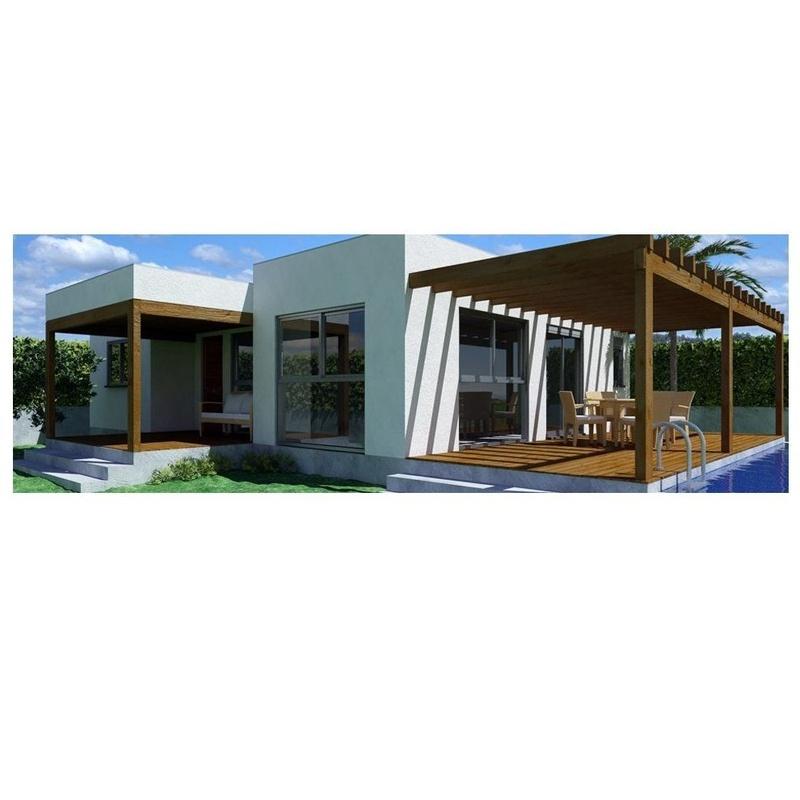 Denise (93 m2): Casas de madera de 5SCC Casas de Madera