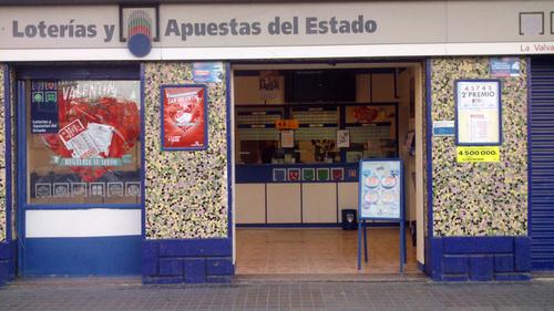 Administración de Lotería Nº 77 La Valvanera, Valencia