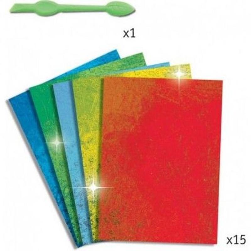 Decora dragones con papel metalizado. 3070900095113