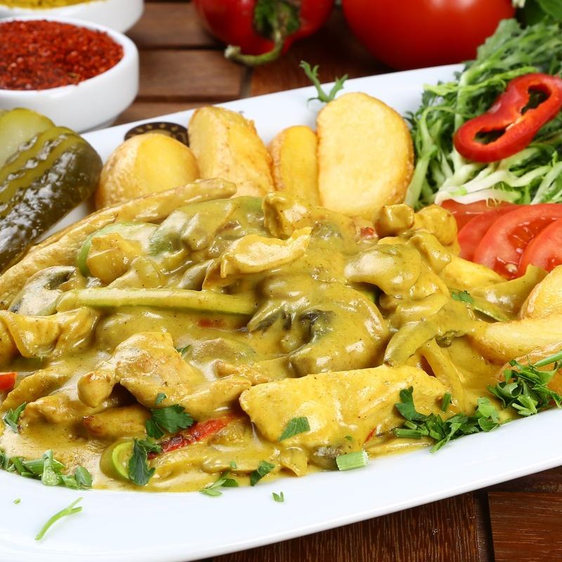 Especialidades con curry: Amplia carta de El Cor de la Brasa