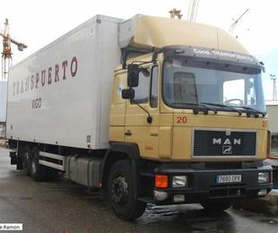 Transporte desde el puerto de Vigo a las factorías