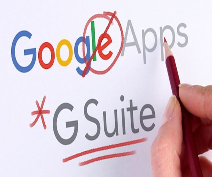 Google apps for work es ahora, G-SUITE