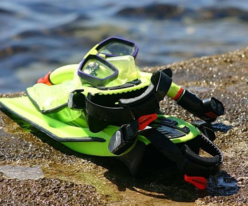El equipo básico para iniciarse en el snorkel