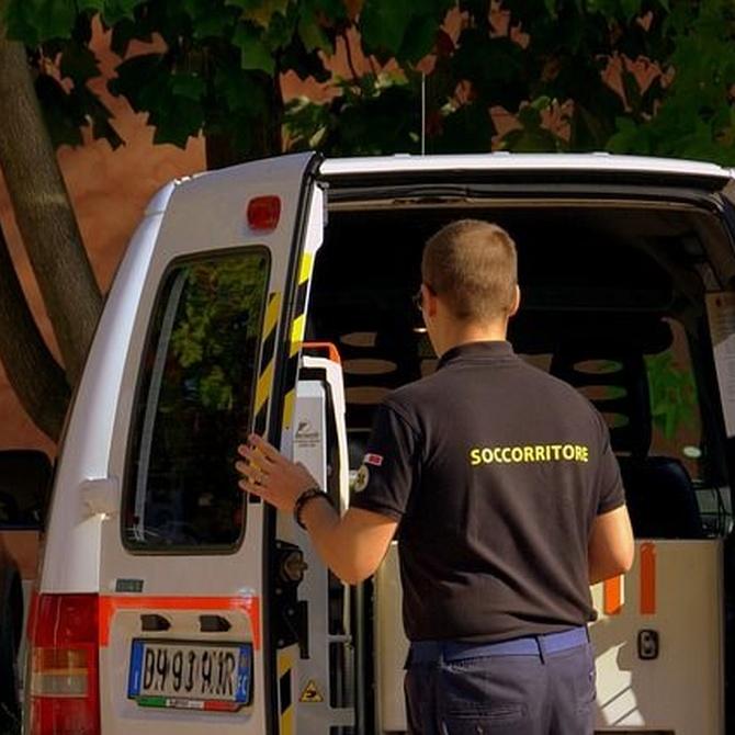Equipamiento de una ambulancia