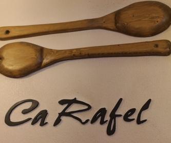 Cocina valenciana: Nuestros platos de Mesón Ca Rafel
