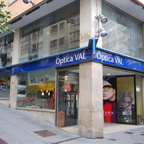 Ópticas en diferentes localidades de Galicia