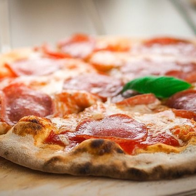 ¿Pizza gruesa o pizza fina?