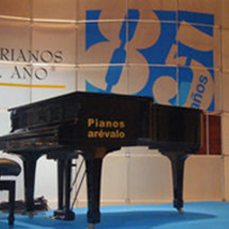 Alquiler de pianos: Instrumentos musicales de Galería Musical Arévalo