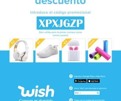 Punto de recogida WISH en Madrid!