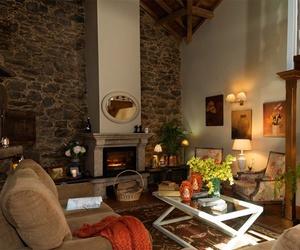 Salón de nuestra casa rural en Santiago de Compostela