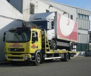 Góndola para transporte de camiones y autobuses