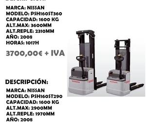 APILADOR NISSAN 1600 KG