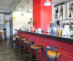 Barra de nuestro bar en Las Tablas, Madrid