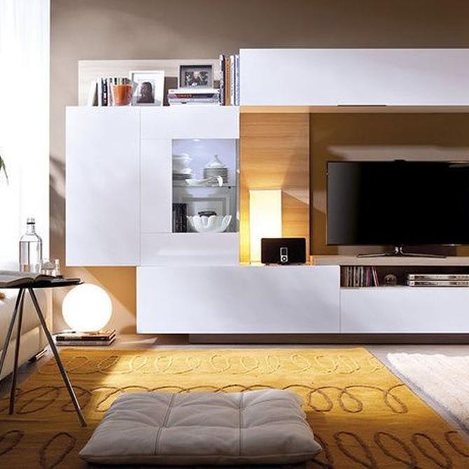 Ideas para el mobiliario de tu salón