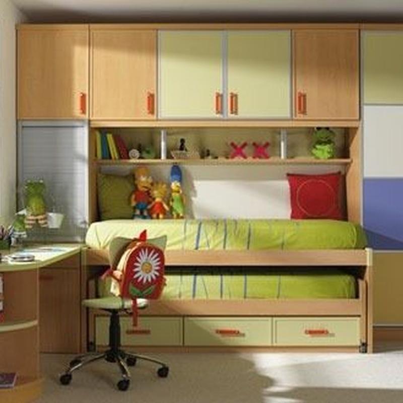 Dormitorios juveniles: Productos de Muebles Gondisa