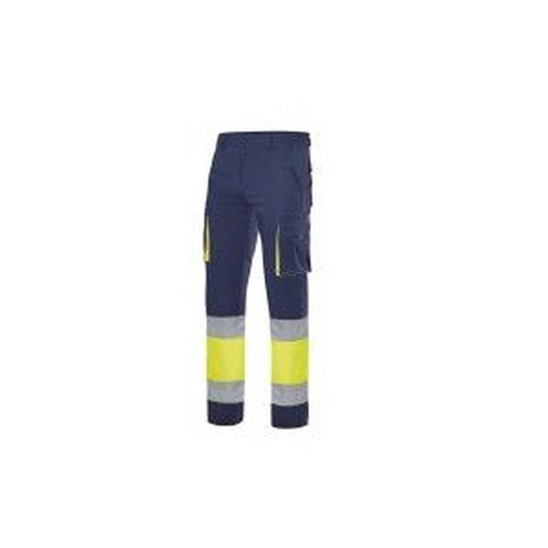 Serie 303007 / Pantalón 100% algodón bicolor alta visibilidad: Nuestros productos  de ProlaborMadrid
