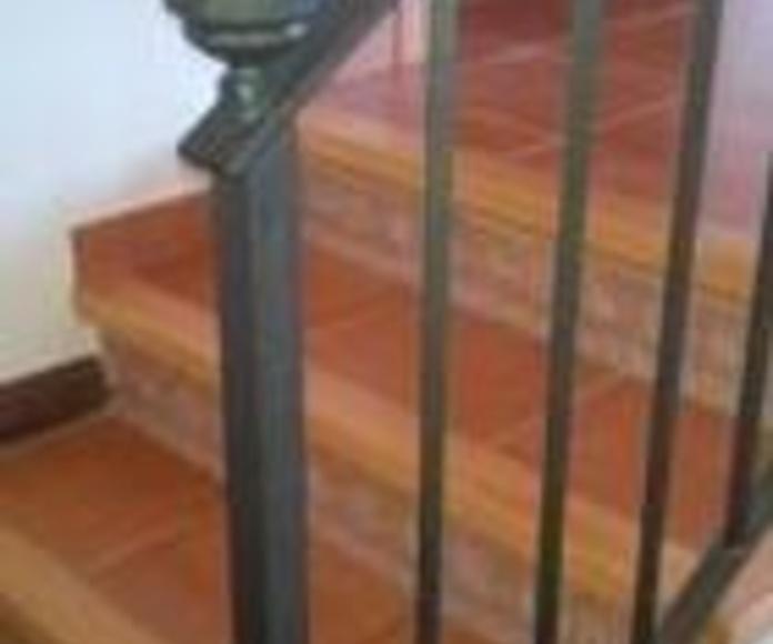 Escaleras en Valls