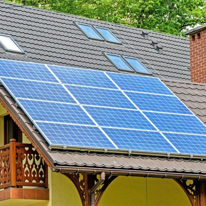 Los diferentes tipos de placas solares