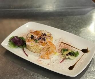 Raciones: Carta de Restaurante Arbillas