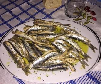 Lubina: Platos  de Restaurante Tiro  Pichón