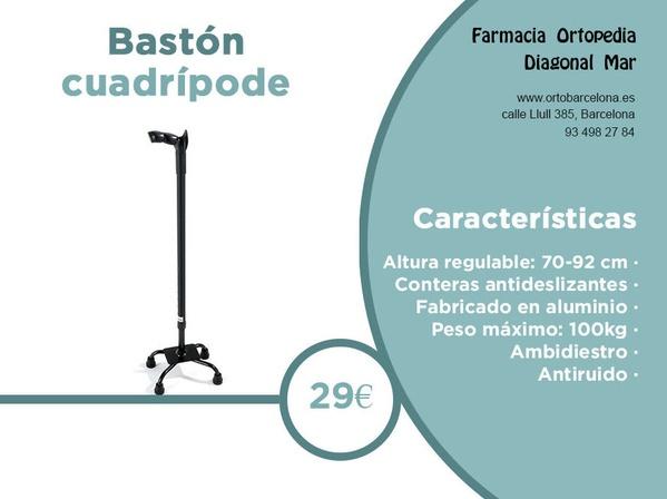 Bastón cuadrípode barcelona