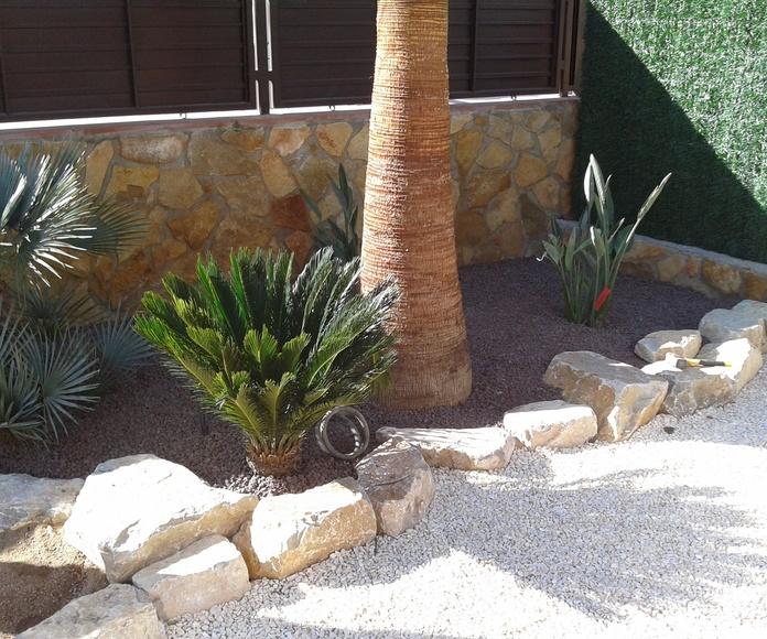 Diseño de jardines: Servicios de Jardinería Cuerba