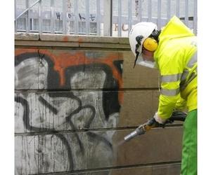 Limpieza de graffitis en Soria