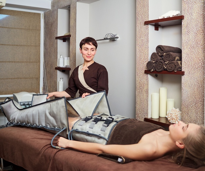 Presoterapia: Peluquería y estética de Peluquería  Cristina