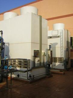 ¿Qué es una torre de refrigeración o enfriamiento? Funcionamiento y seguridad