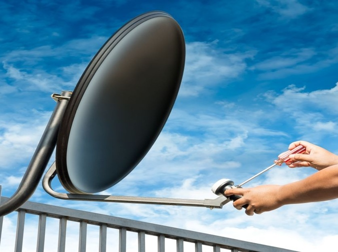 Precauciones necesarias para la instalación de una antena