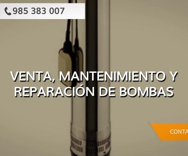 Mantenimiento de bombas de agua en Asturias